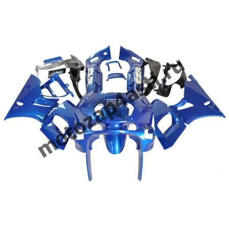 Комплект пластика Kawasaki ZZR400II 93-03 Штатный Синий.