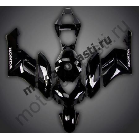 Комплект пластика Honda CBR1000RR 2004-2005 Черный глянцевый.