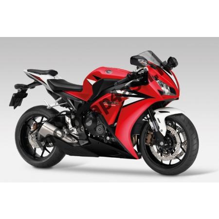 Комплекты пластика Honda CBR1000RR 2012-2014 Штатный Красно-Белый.