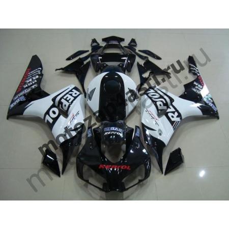 Комплект пластика Honda CBR1000RR 2006-2007 Черно-Белый Repsol