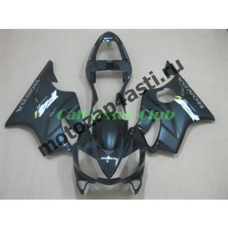 Комплект пластика для мотоцикла Honda CBR600 F4i 01-07 Черно-Серый Глянцевый
