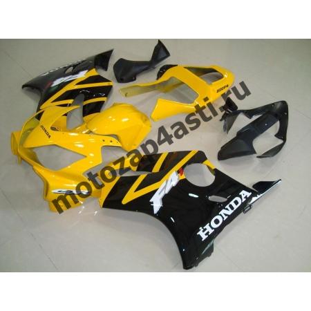 Комплект пластика для мотоцикла Honda CBR600 F4i 01-07 Желто-Черный