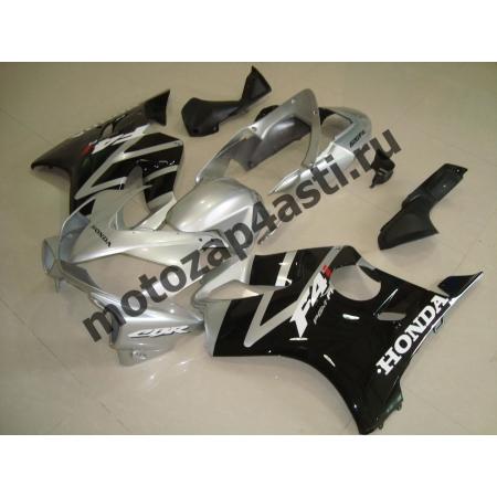 Комплект пластика для мотоцикла Honda CBR600 F4i 01-07 Черно-Серый.