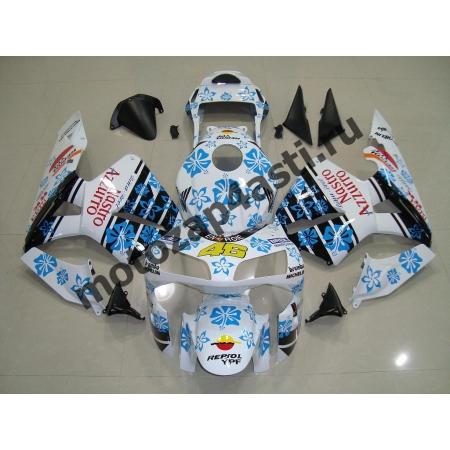 Комплект Мотопластика Honda CBR600RR 03-04 Nastro Azurro
