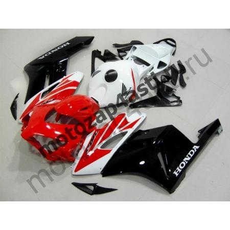 Комплект пластика Honda CBR1000RR 2004-2005 Стоковый красно-бело-черный-2.