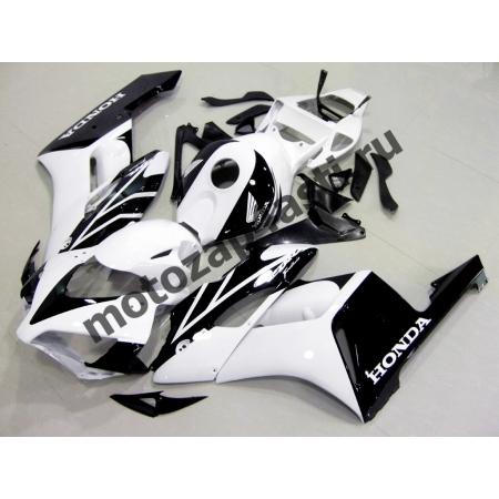 Комплект пластика Honda CBR1000RR 2004-2005 Бело-черный-1.