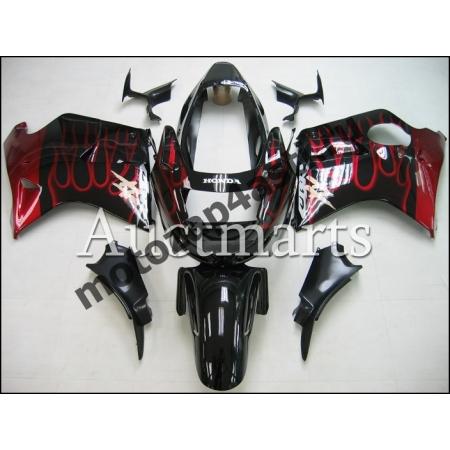 Комплекты пластика Honda CBR1100xx  (Черный с огнем)