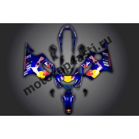 Комплект пластика для мотоцикла Honda CBR600 F4i 01-07 (RedBull)