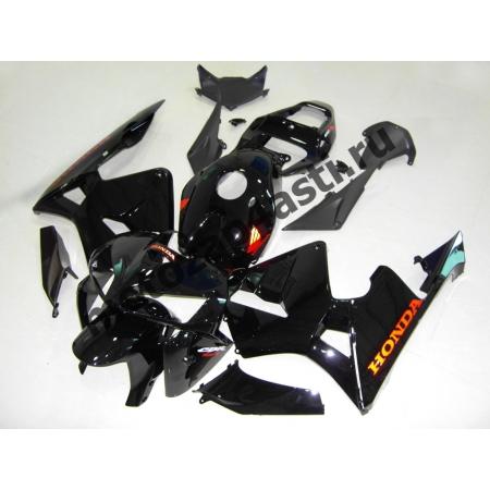 Комплект Мотопластика Honda CBR600RR 05-06 Черный глянцевый