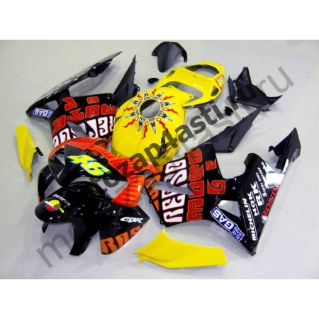 Комплект Мотопластика Honda CBR600RR 05-06 Repsol-3 V.Rossi