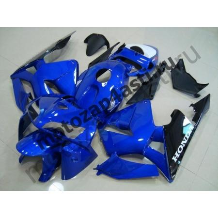 Комплект Мотопластика Honda CBR600RR 05-06 Сине-черный.