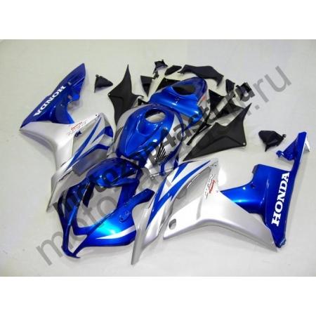 Комплект Мотопластика Honda CBR600RR 07-08 Серебристо-Синий