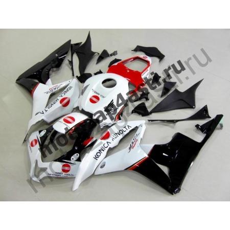 Комплект Мотопластика Honda CBR600RR 07-08 Konica Minolta(Красно-черно-белый).