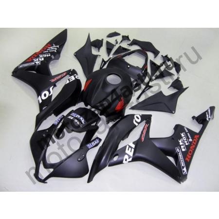 Комплект Мотопластика Honda CBR600RR 07-08 Черный матовый Repsol.