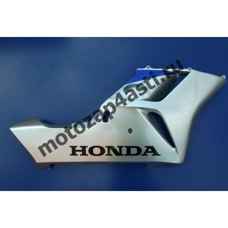 Правый нижний боковой мотопластик Honda CBR1000rr 2004-2005 серо-синий.