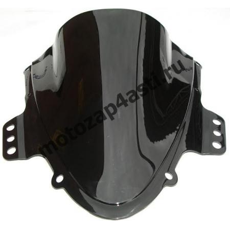 Ветровое стекло GSXR1000 K5-K6 05-06 Дабл Бабл Черный