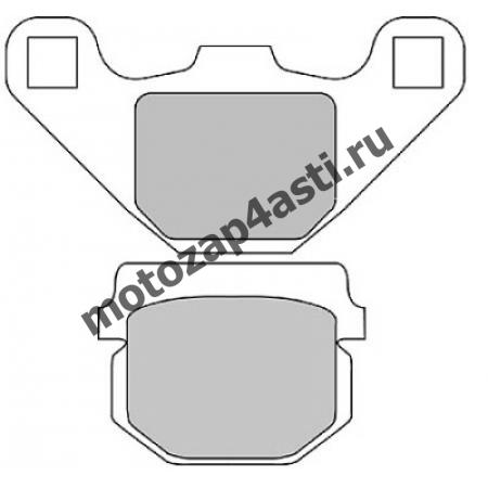 Колодки тормозные ST010 (EBC FA83)