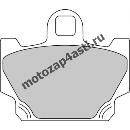 Колодки тормозные ST016 (Nissin 2p-230 EBC FA81)