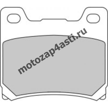Колодки тормозные ST024 (Nissin 2p-207 EBC FA88)