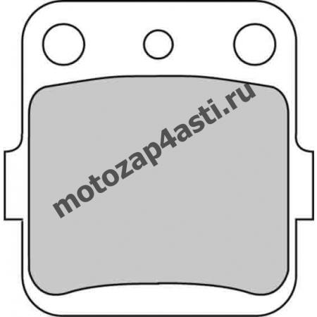 Колодки тормозные ST025 (Nissin 2p-283 EBC FA84)