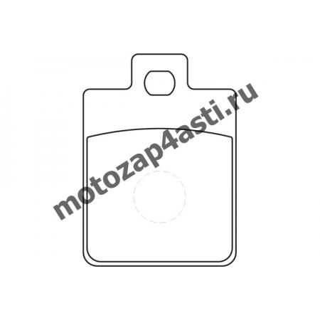 Колодки тормозные ST028 (EBC FA260)