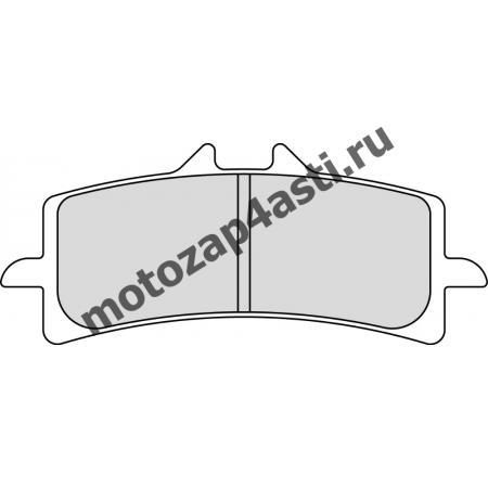 Колодки тормозные ST033 (EBC FA447)