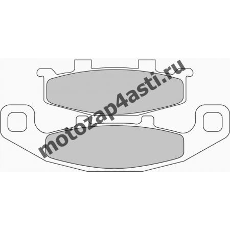 Колодки тормозные ST034 (Nissin 2p-252 EBC FA129)