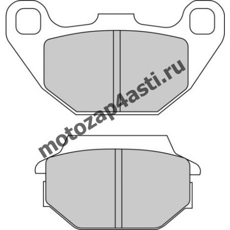 Колодки тормозные ST036 (EBC FA305)