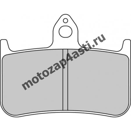 Колодки тормозные ST065 (Nissin 2p-203 EBC FA144,187)