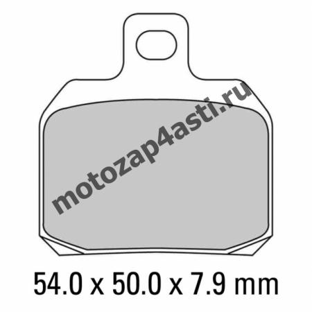 Колодки тормозные ST068 (Nissin 2p-285 EBC FA266)