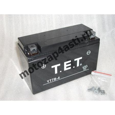 Аккумулятор TET YT7B-BS(YT7B-4)