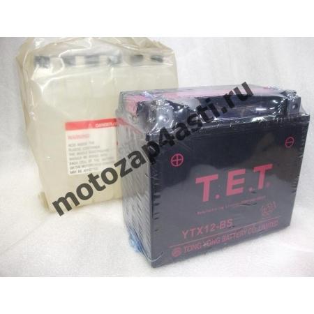 Аккумулятор TET YTX12-BS