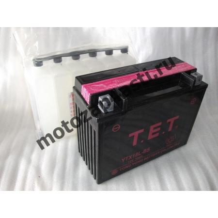 Аккумулятор TET YTX18-BS