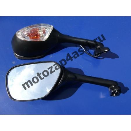 Зеркала Suzuki GSXR600/750/1000 05-08 Цвет: Черный